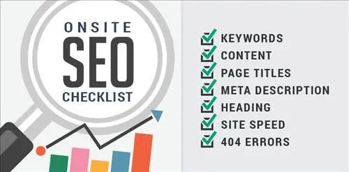SEO checklist support tool