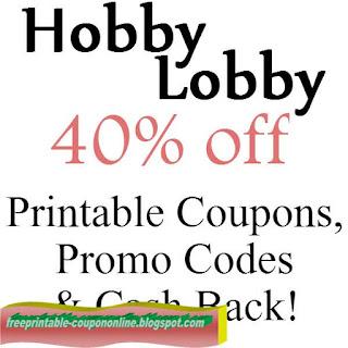 Free Printable Hobby Lobby Coupon