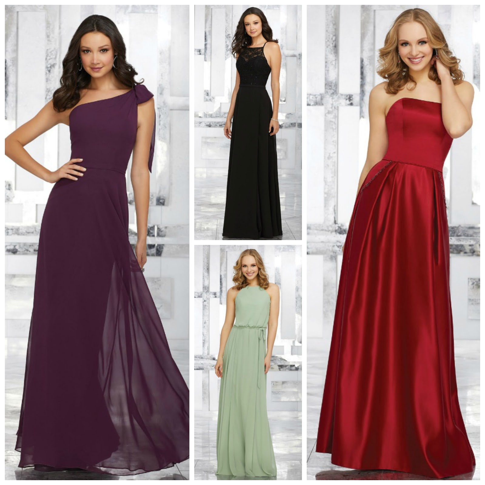 Angelus bridal and formal how to shop for bridesmaid dresses you start shopping early its never too early to begin the bridesmaid gown search start out by flipping through wedding magazines together or sharing your ombrellifo Image collections