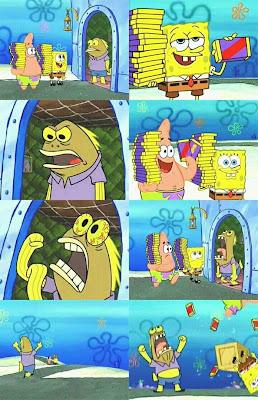 Polosan Meme SpongeBob Cerita