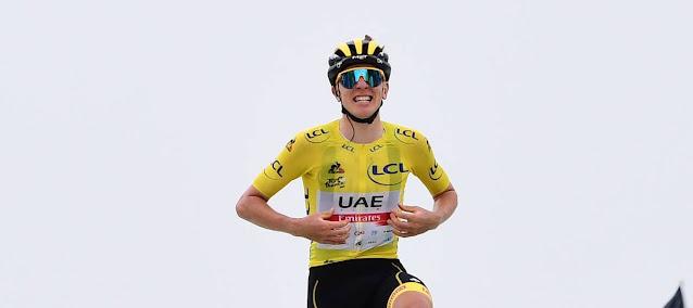 Tadej Pogacar vence sua segunda prova no Tour de France 2021