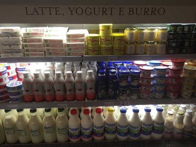 Produtos especiais brasileiros no Eataly, em São Paulo