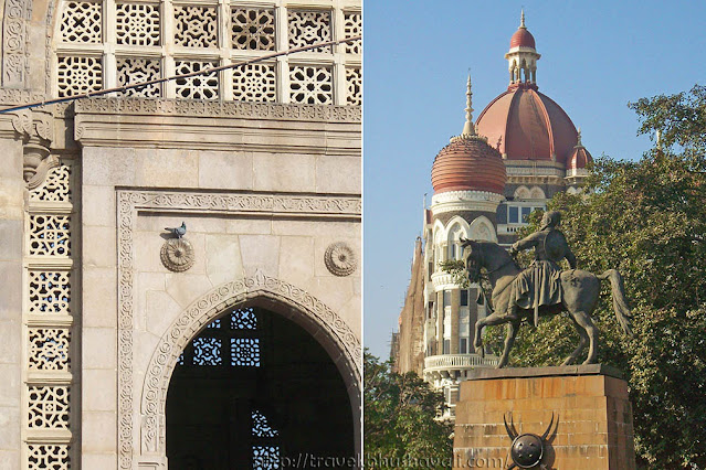 Chhatrapati Shivaji Statue near Gateway of India Mumbai