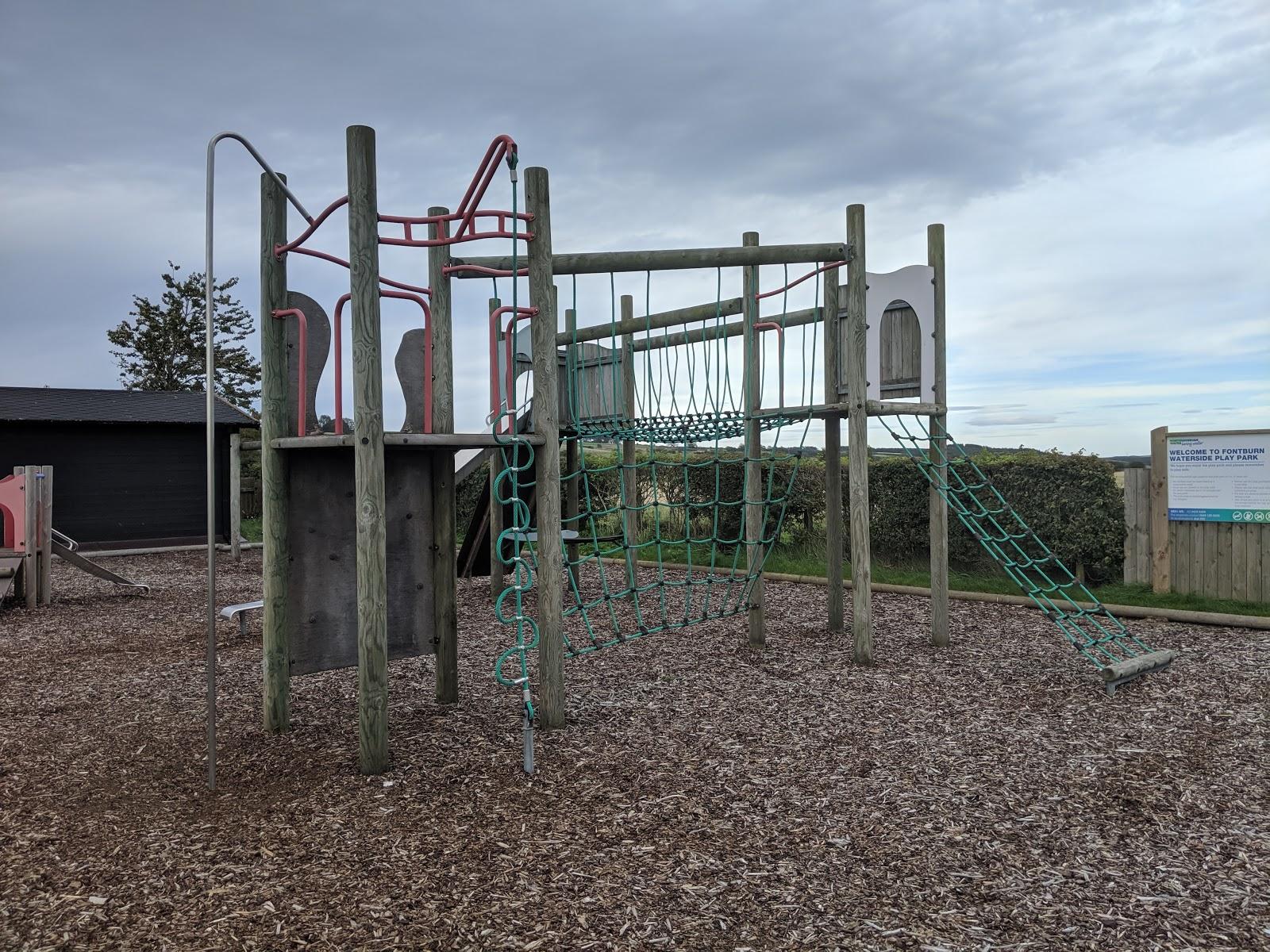 Fontburn Reservoir | Family Walk & Play Park  - climbing frame