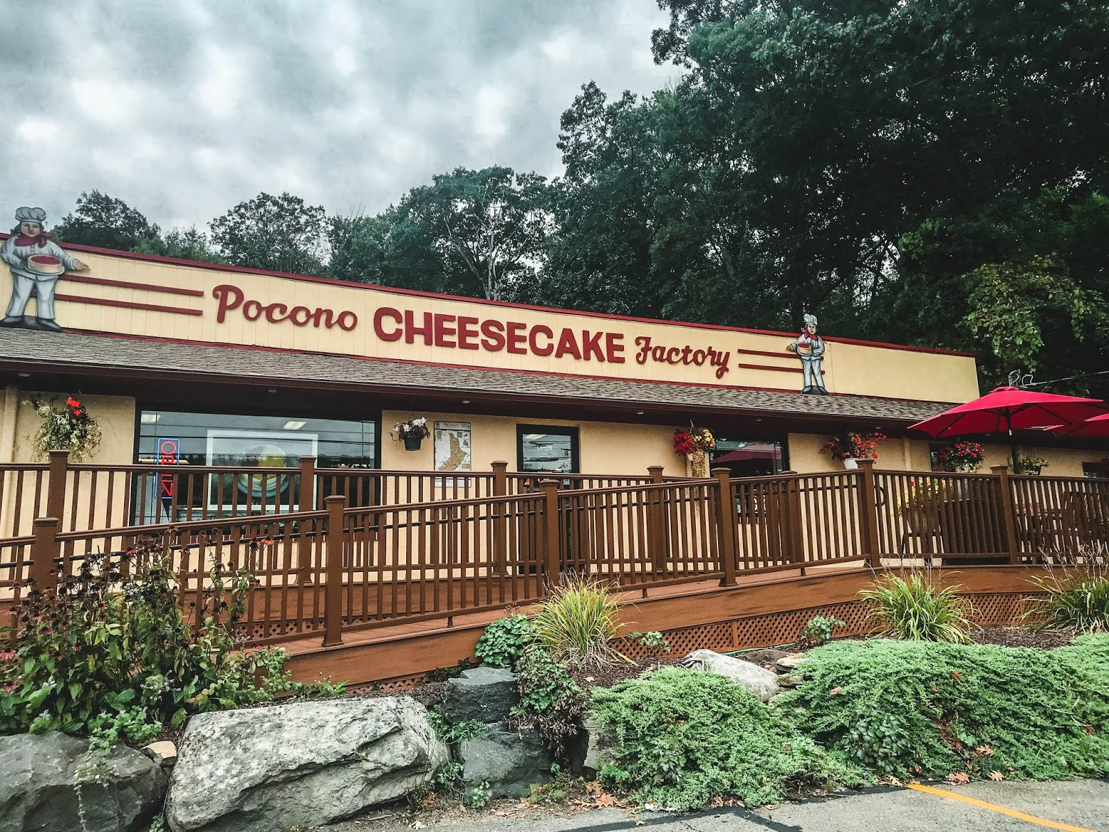 Pocono Cheesecake Factory Pennsylvania