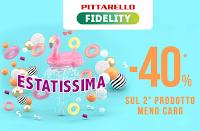 Logo Estatissima Pittarello : - 40% di sconto sul 2° prodotto meno caro