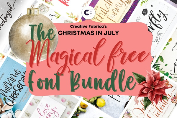 The Magical Free Font Bundle