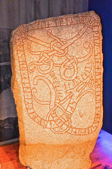 Suède Stockholm Pierre runique : Musée historique
