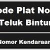 Kode Plat Nomor Kendaraan Teluk Bintuni