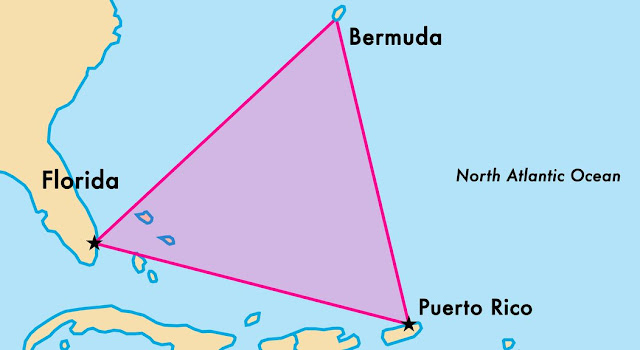 أهم حقائق وتفسيرات مثلث برمودا