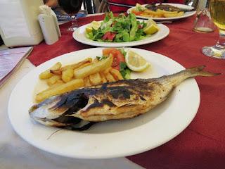 Cyprus itinerary: fish lunch at Canli Balik in Kyrenia