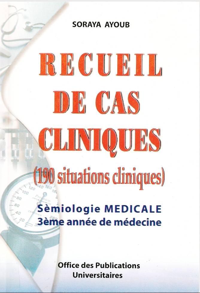 grande biblioth u00e8que   recueil de cas cliniques  190