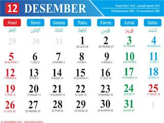 Download Template Kalender 2021 CDR dan PDF Gratis ...