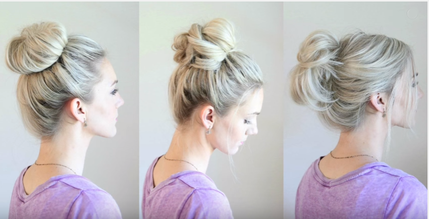 Different Messy Buns Hairstyles