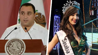 """Se casa Roberto Borge con """"Miss Sinaloa"""""""