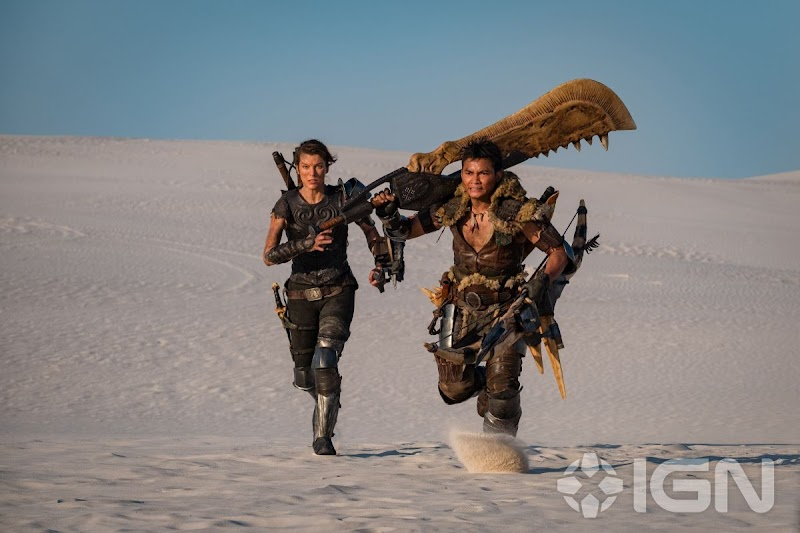 Milla Jovovich Clicked In – Monster Hunter Poster and Promo, 2020