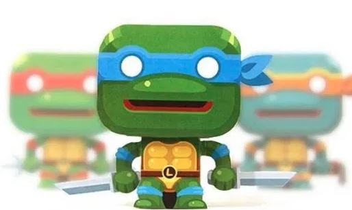 3d Figures of Ninja Turtles