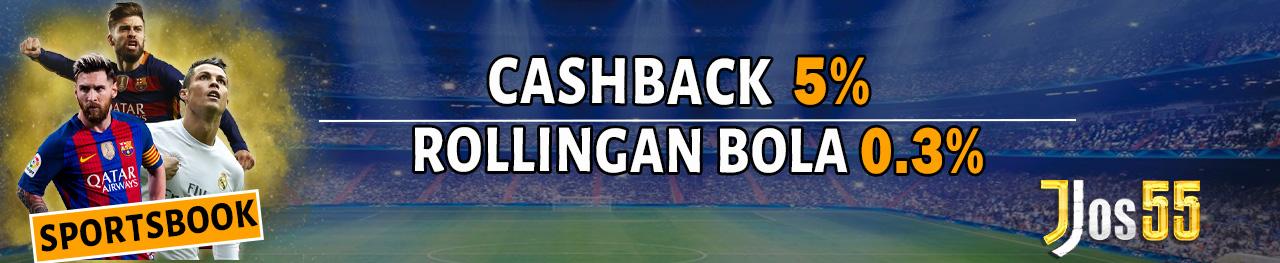 Promo Bonus Rollingan Sportsbook