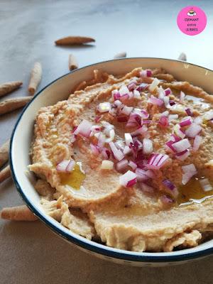 Hummus de llenties