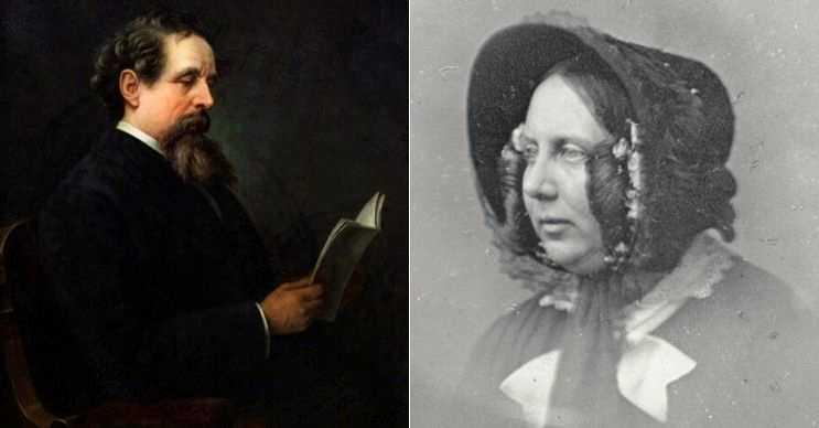 Dickens ve eşi mutlu başladıkları evliliklerini hayal kırıklığıyla bitirmişlerdi.