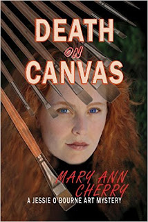 Death on Canvas - an art mystery by Mary Ann Cherry