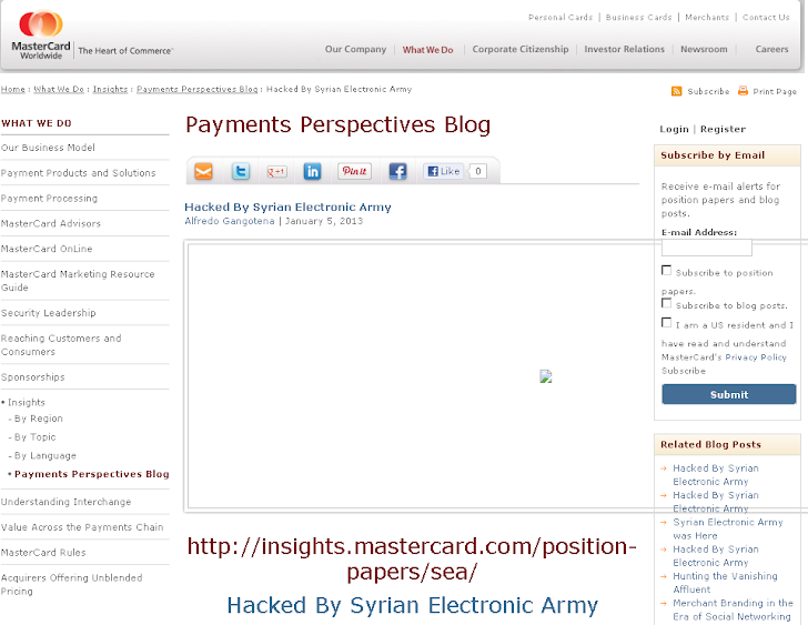 Outdated version of WordPress leads to MasterCard Hack