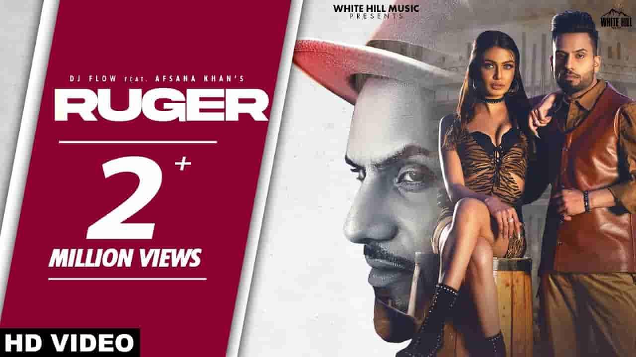 Ruger lyrics DJ Flow x Afsana Khan Punjabi Song