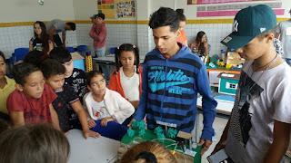 Escola Prefeito Severino Pereira Gomes realiza 1° Conecte-se