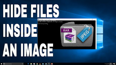 Hide Your Files Inside An Image