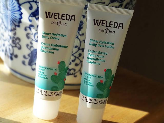 Weleda Sheer Hydration Skincare Range