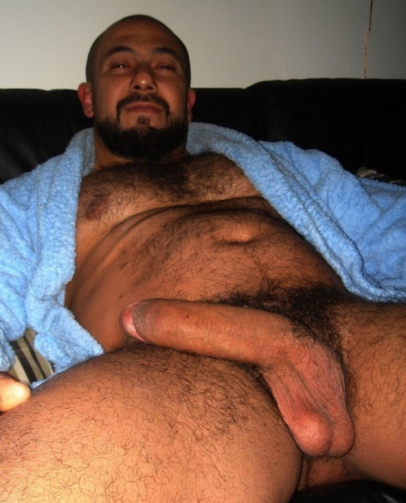 Bear cub solo - fat cock
