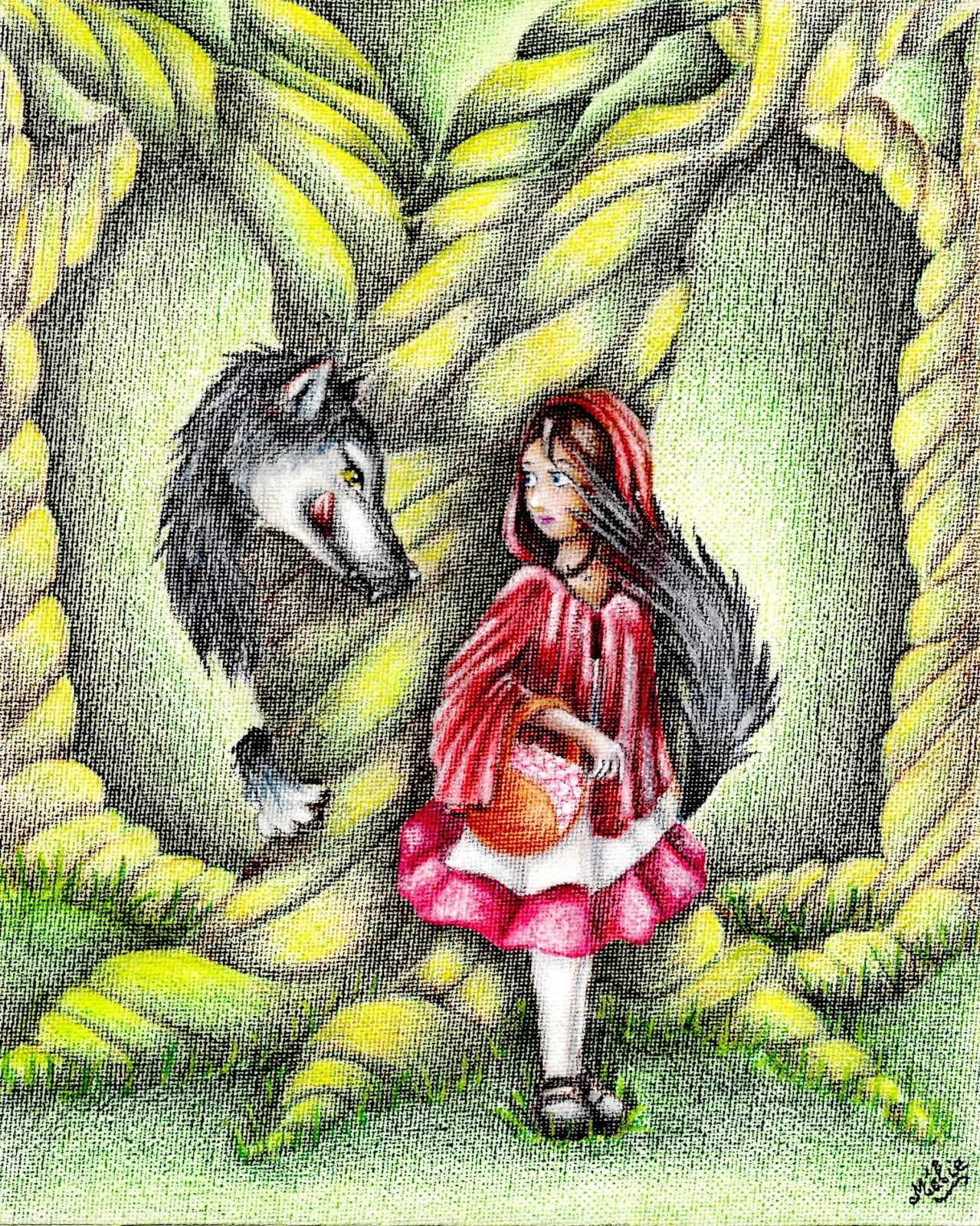 Le Jeu du Loup et du Chaperon Rouge - Jeux de société