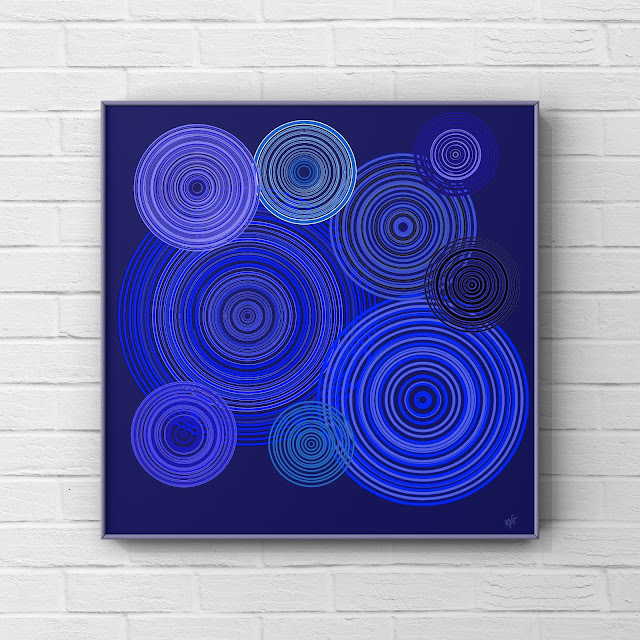 Looper, abstract art, Mark taylor, Trending art, circle art,