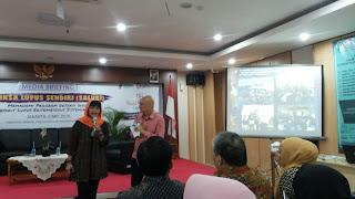 Tiara Savitri, Ketua Yayasan Lupus Indonesia, berbagi pengalaman