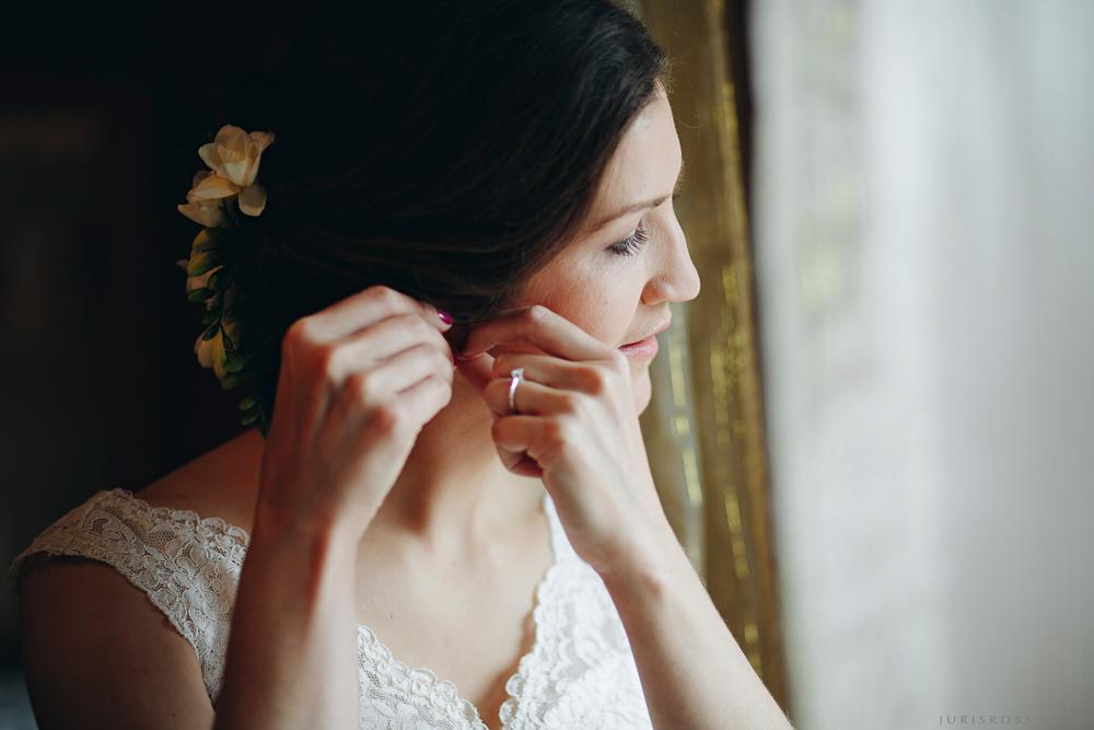 līgavas auskari