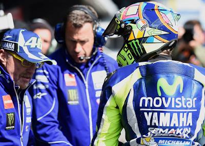 Gagal Menang, Rossi Sebut Crutchlow Terlalu Cepat