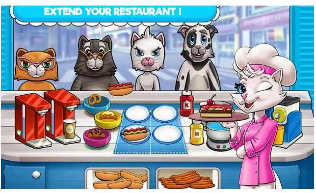 Game Hello Kitty Kate Cooking Restaurant