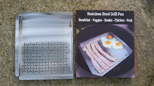 @CaveTools Stainless Steel Grill Pan #Review
