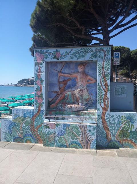 Bassorilievo dea Diana Diano Marina