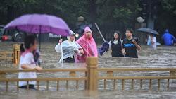 Ngập lụt nghiêm trọng ở Trung Quốc khiến 12 người thiệt mạng