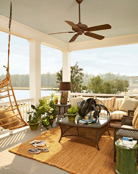 9 Coastal Summer Porch Decor Ideas - Coastal Decor Ideas ...