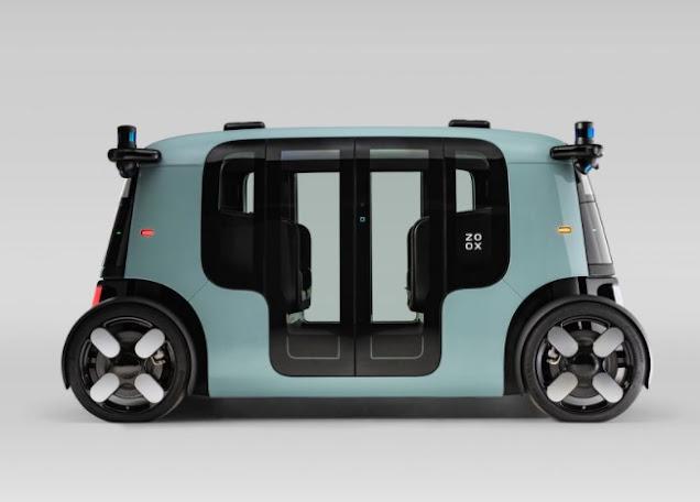 Desain ZOOX autopilot taksi