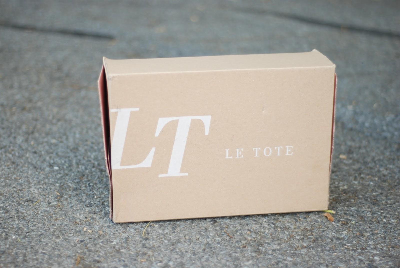Le Tote, Le Tote Box