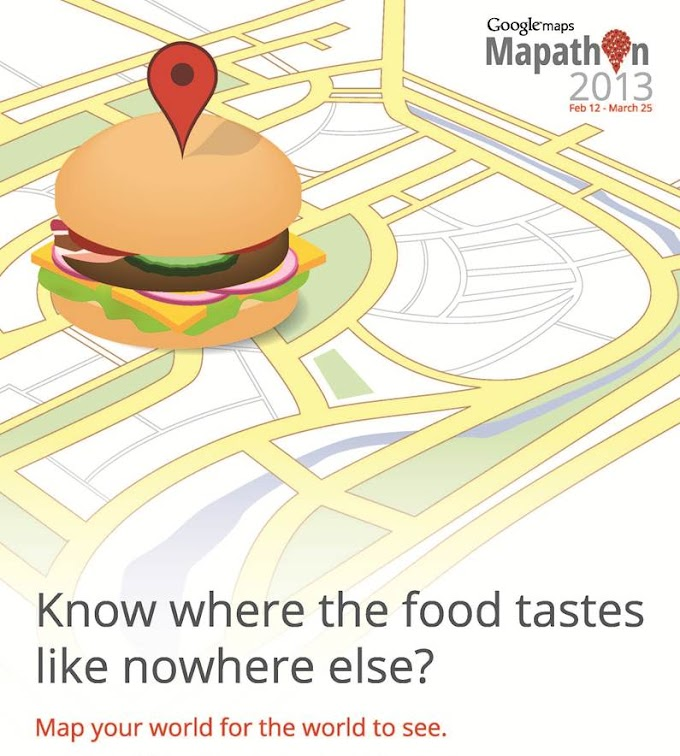 Google Mapathon 2013 - பரிசுகளை வெல்லுங்கள்!