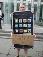 disfraz iphone