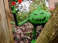 Last Resort Toys Larry the Pumpkin Monster Art Toy 01