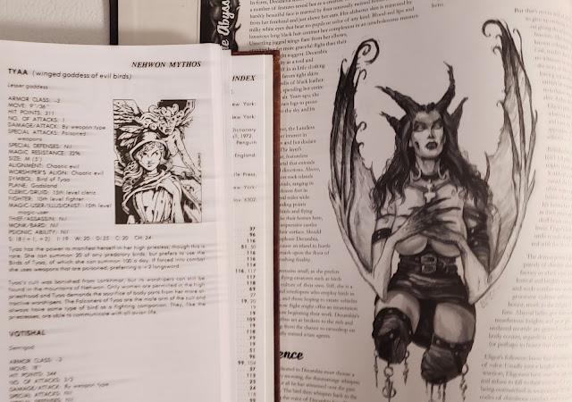 Bird Goddesses and Demons