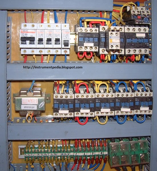 Star Delta Control Panel Wiring Diagram Mobility Scooter What Is A Panel?. Are The Components In Panel?   Instrumentation And ...