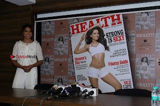 Bollywood Actress Bipasha Basu Unviels Health Nutrition Success Issue Pos  0027.JPG