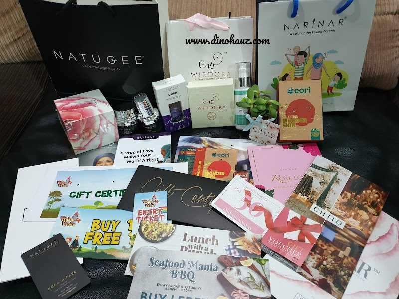 Natugee X Mrs Malaysia World - Healthy Is The New Happy - Penaja Utama dan Goodies